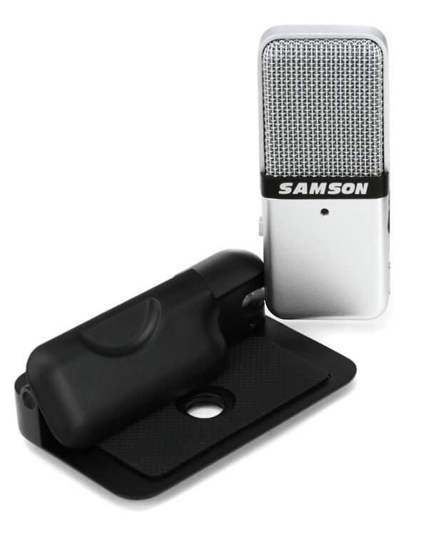 Samson Go - best small portable cheap usb condenser microphone for youtube recording and vlogging