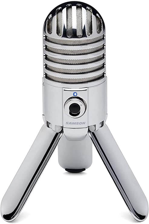 Samson Meteor - best vloggin video recording microphone for youtube