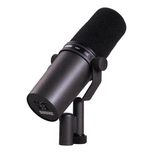 Shure SM7B - best microphone for recording youtube videos