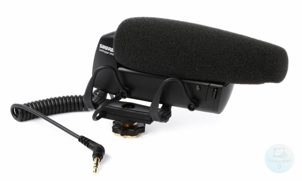 Shure VP83 LensHopper - best camera-mount compact shotgun microphone for vlogging and streaming