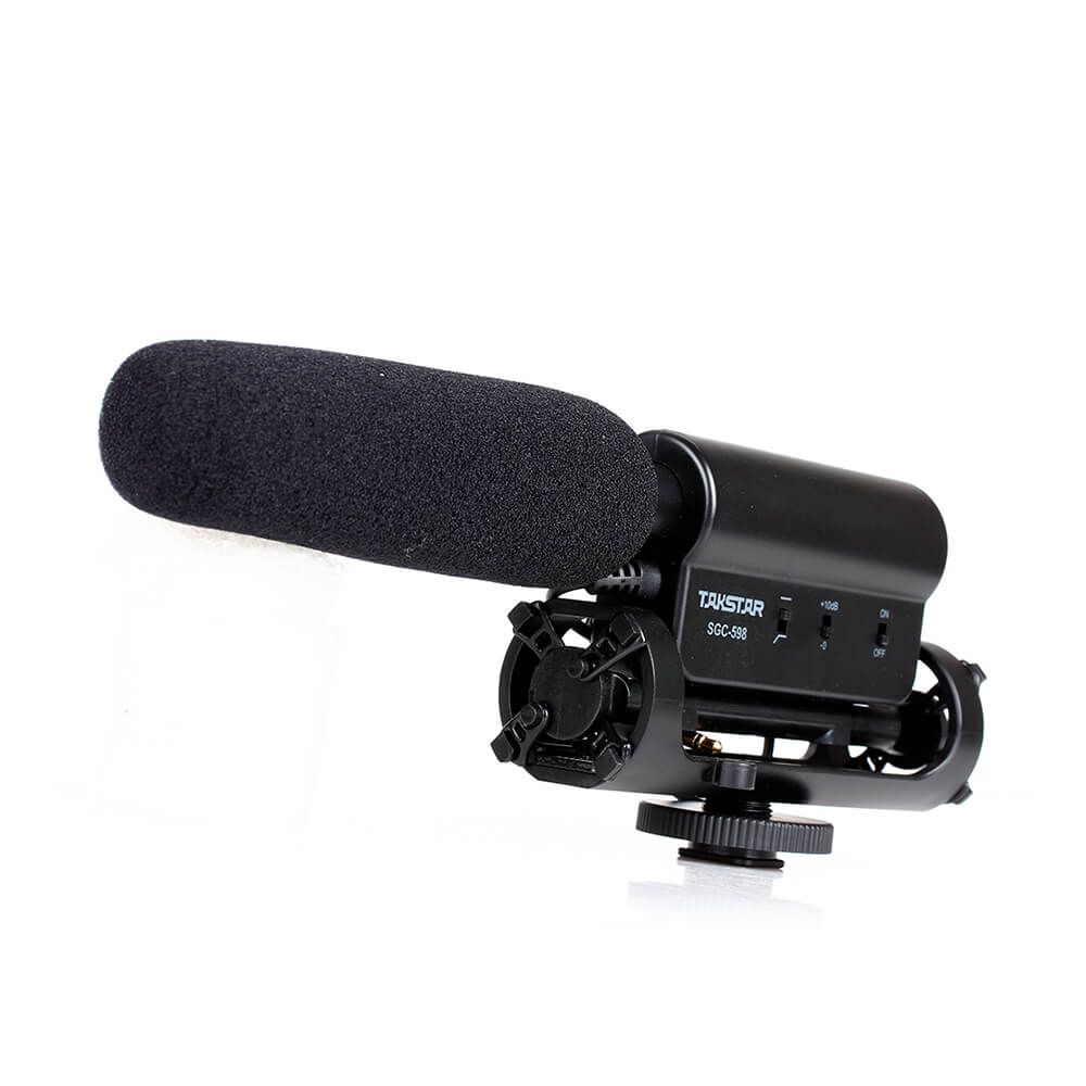 Takstar SGC-598 - professional intreview shotfun microphone for nikon canon dslr camera vlogging on youtube