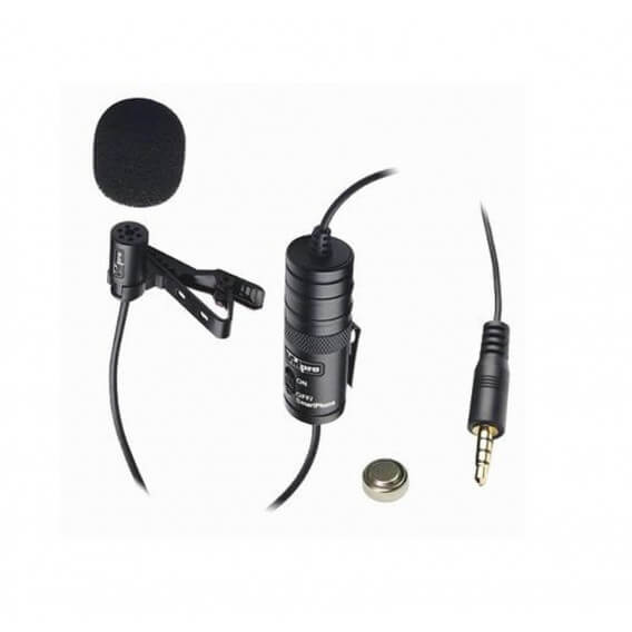 Vidpro Lavalier Condenser Microphone - best cheap affordable microphone for dslrs, camcorders, and video cameras