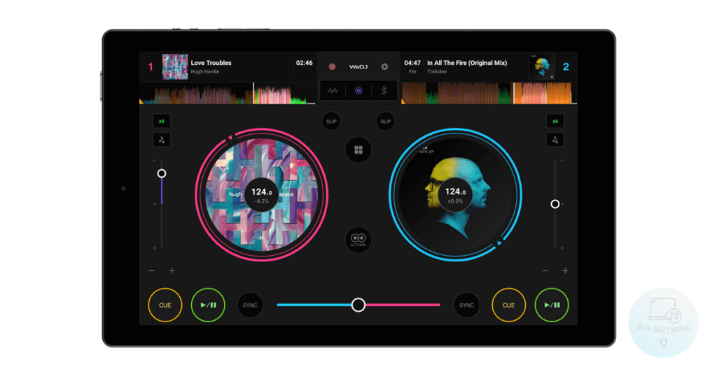 WeDJ - free pioneer dj app for iphones and ipads