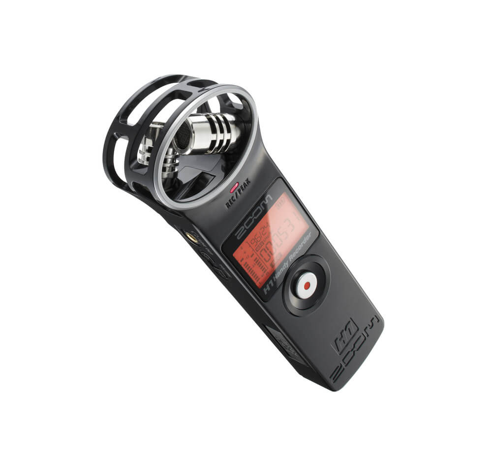 Zoom H1 - best handy recorder microphone for vlogs on youtube