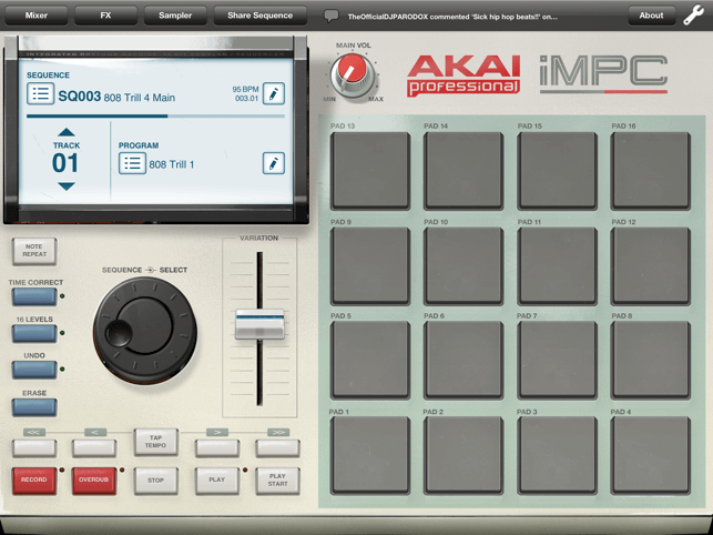 iMPC - cheap affordable budget digital drum machine for music production