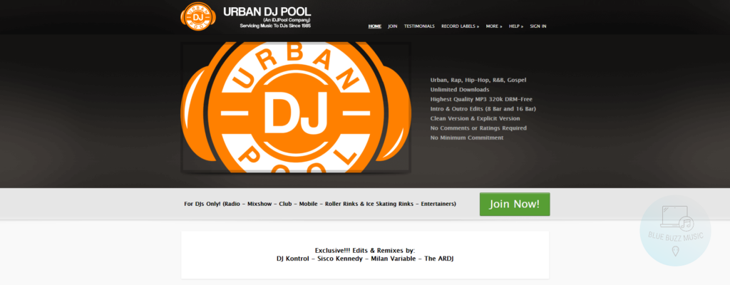 urban dj pool review - franchise record pool review - best urban dj pool for hip hop free