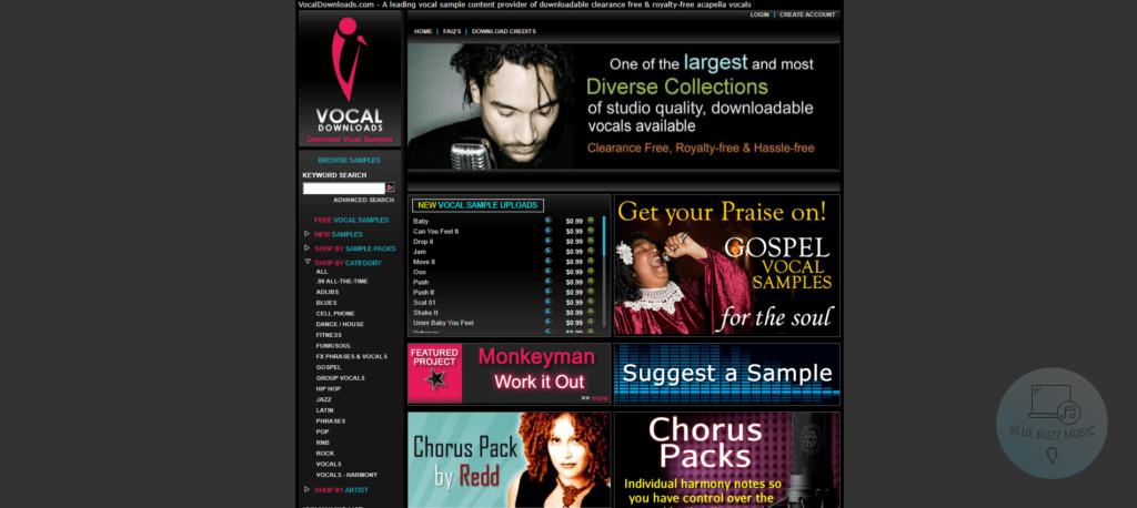 vocal downloads review - best free acapella music files download online