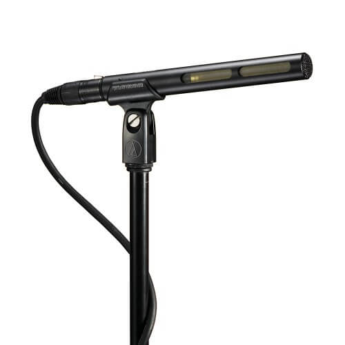 Audio-Technica AT875R - best boom mic on camera shotgun microphone for DSLR video cameras