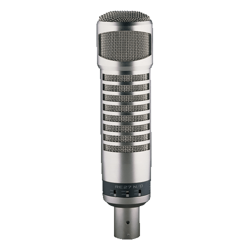 Electro-Voice RE27 - best high quality dynamic computer microphone for computer video recording
