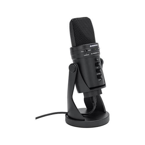 Samson G-Track Pro - best budget cheap computer usb microphone for streaming and podcasting