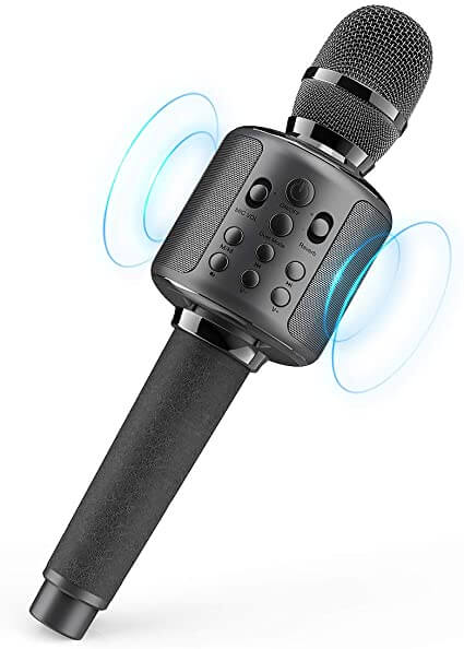 BLAVOR - best cheap kids microphone for singing and party