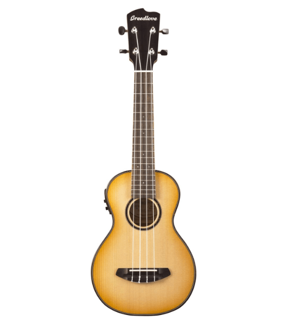 Breedlove Pursuit Concert Ukulele Review