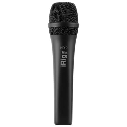 IK Multimedia iRig Mic Handheld - best handheld dynamic microphone for ios devices like iphone and ipad