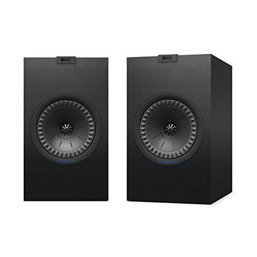 KEF Q350- best bookshelf speakers for pc computers for music under 00
