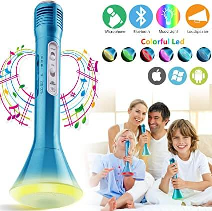 PasoBass Wireless Karaoke Microphone for kids to sing their favourite songs