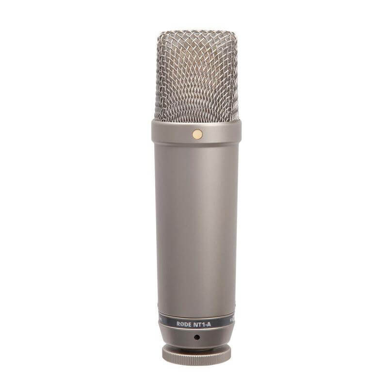 Rode NT1-A - best mic for female voice over