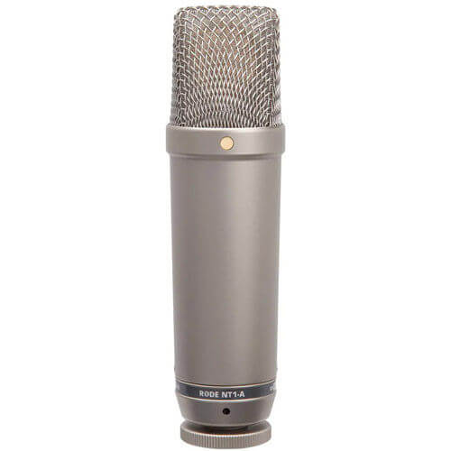 Rode NT1-A - top best gaming microphone for vocal recording
