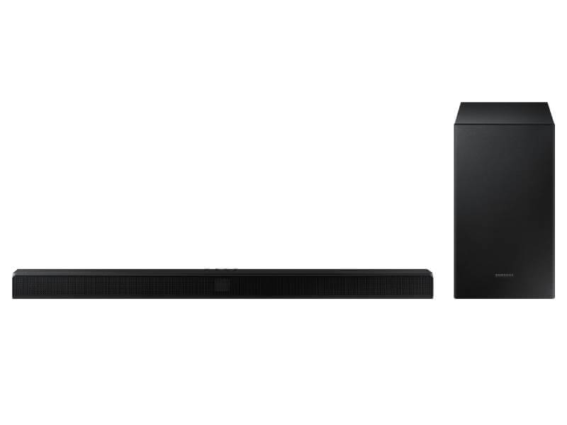 Samsung HW-T550 - cheap budget soundbar with best bass
