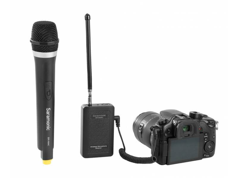 Saramonic WM4CA Microphone System - best bluetooth mic for mobile video recording lavalier