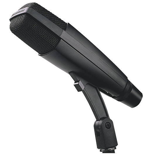 Sennheiser MD 421 II - best audiobook microphone - voice over, podcasting, youtube