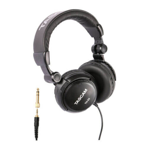 Tascam TH 03 cheap budget closed-back studio headphones review