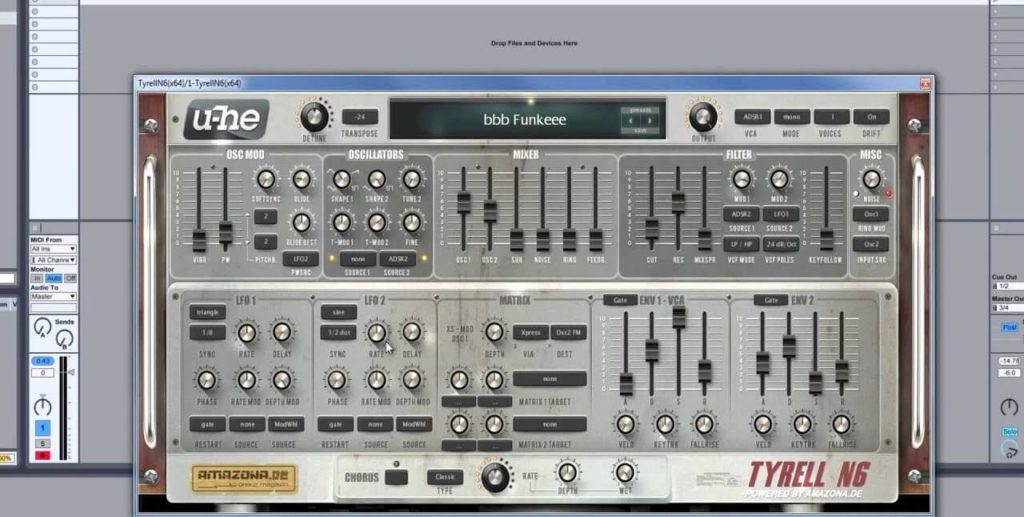 Tyrell N6 VST Download