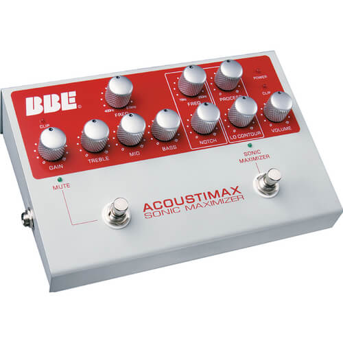 BBE Acoustimax Sonic Maximizer - best acoustic guitar onboard preamp
