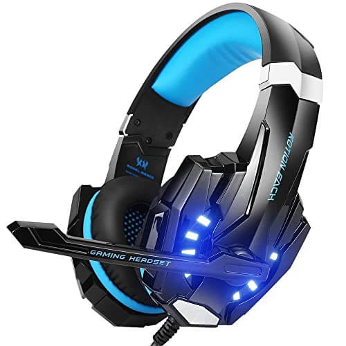 Beexellent Gaming Headset - best cheap affordable headset with microphone for gaming