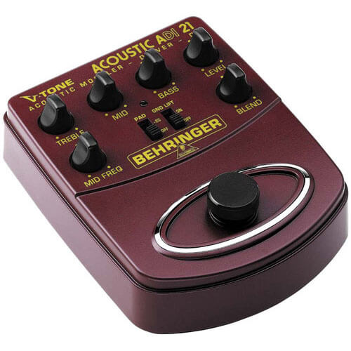 Behringer V-Tone Preamp - best small portable acoustic guitar preamp