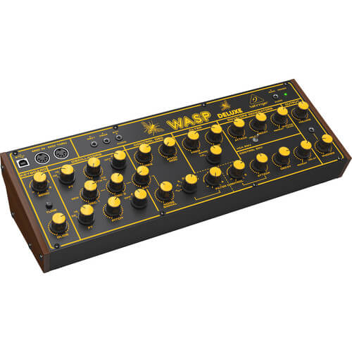 Behringer Wasp Deluxe - best budget cheap affordable synthesizer for live performance