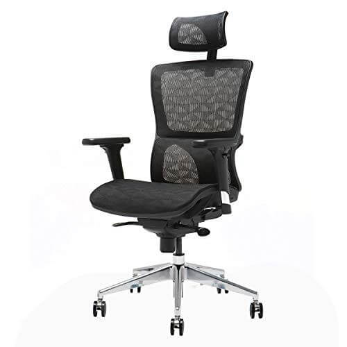 Ensien Ergonomic chair - best recording studio chairs for producers in their home and studio