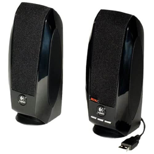 Logitech S150 - best cheap budget affordable powered speakers for keyboards