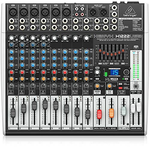 Mackie ProFX12V2 - best small affordable analog unpowered mixer