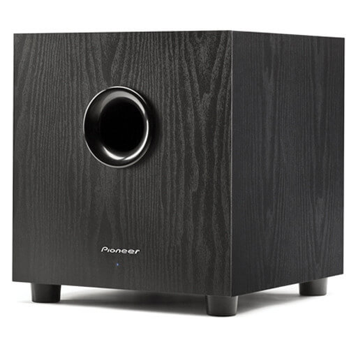 Pioneer SW-8MKS - best budget subwoofer for watching movies