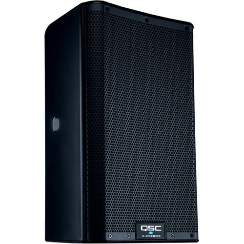 QSC K10.2 - best portable speakers for dance studio