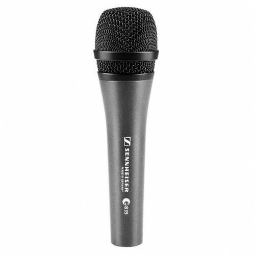 Sennheiser e835 - best budget dynamic microphone for podcasting