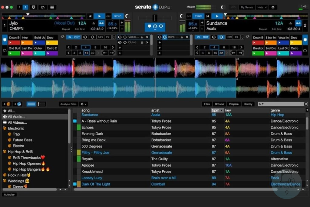 Serato DJ Intro for Mac - free professional dj software for mac computers