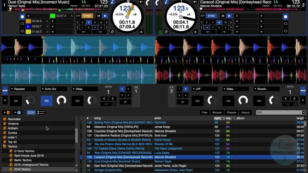 Serato DJ Lite - best free dj software for mac computers and laptops