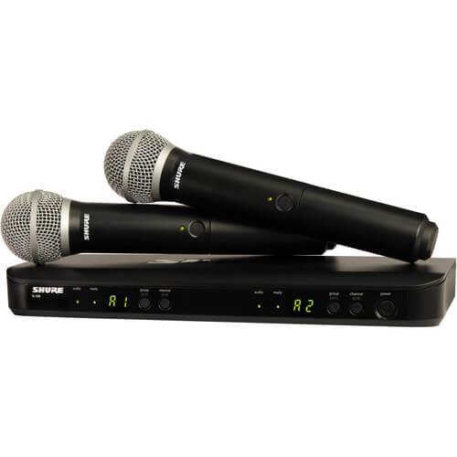 Shure BLX288 - best bluetooth karaoke microhpones set