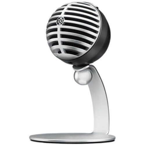 Shure MV5 - best portable standing microphone for ipad