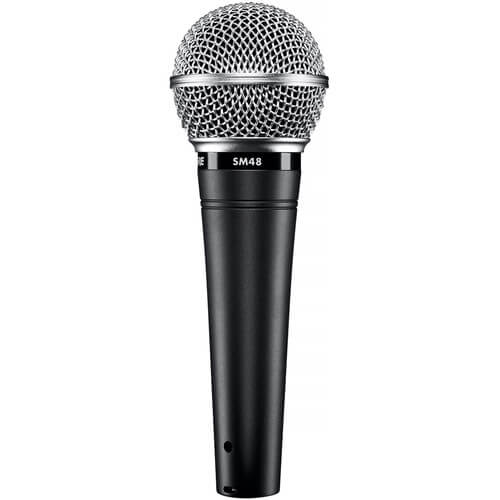 Shure SM48-LC - best cheap affordable budget dynamic microphone
