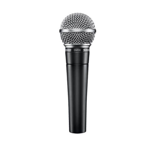 Shure SM58 - best budget dynamic microphone for recording vocals