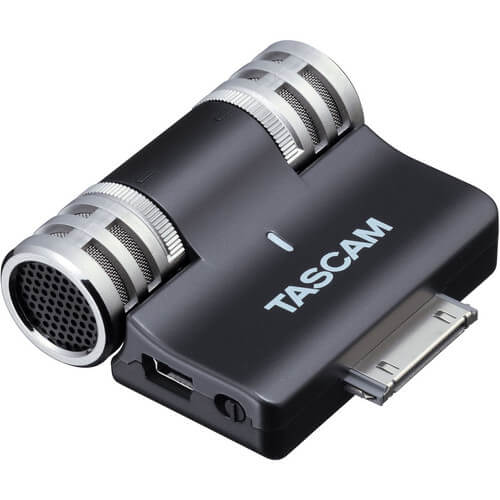 TASCAM iM2 - best cheap budget affordable microphone for ipad and other ios devices