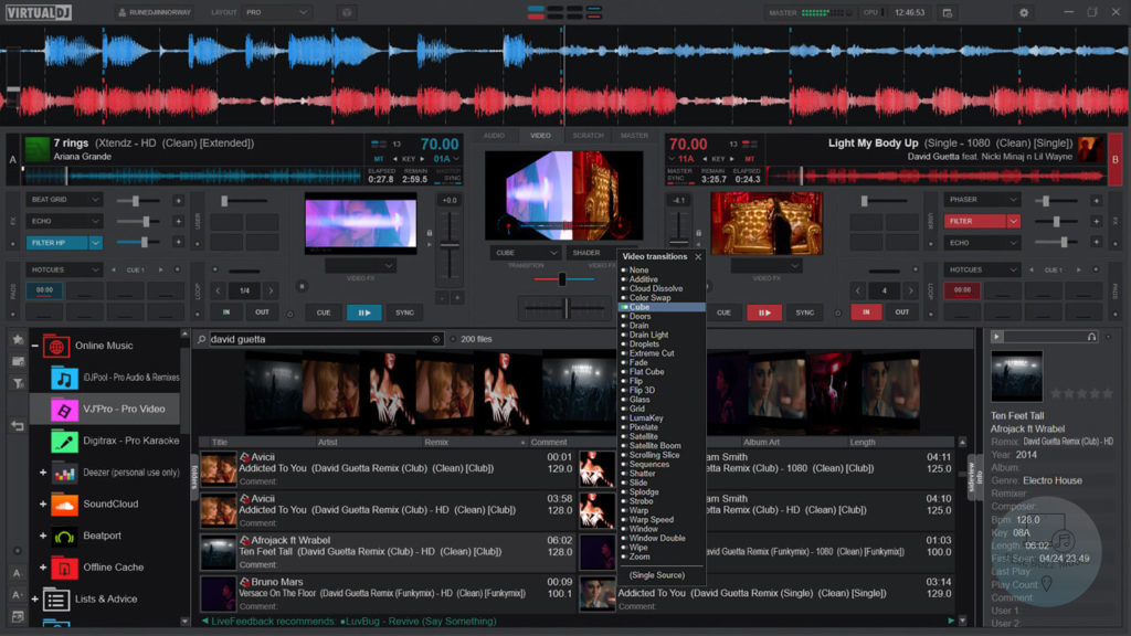 Virtual DJ Home - best free open source dj software for mac for beginners