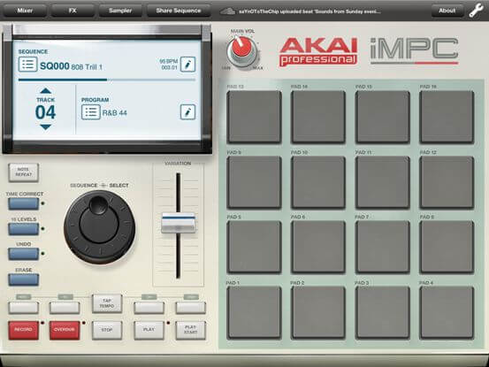 iMPC - best ios mobile beat making app