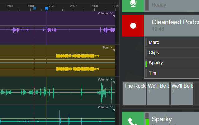 is cleanfeed the best daw for podcasting