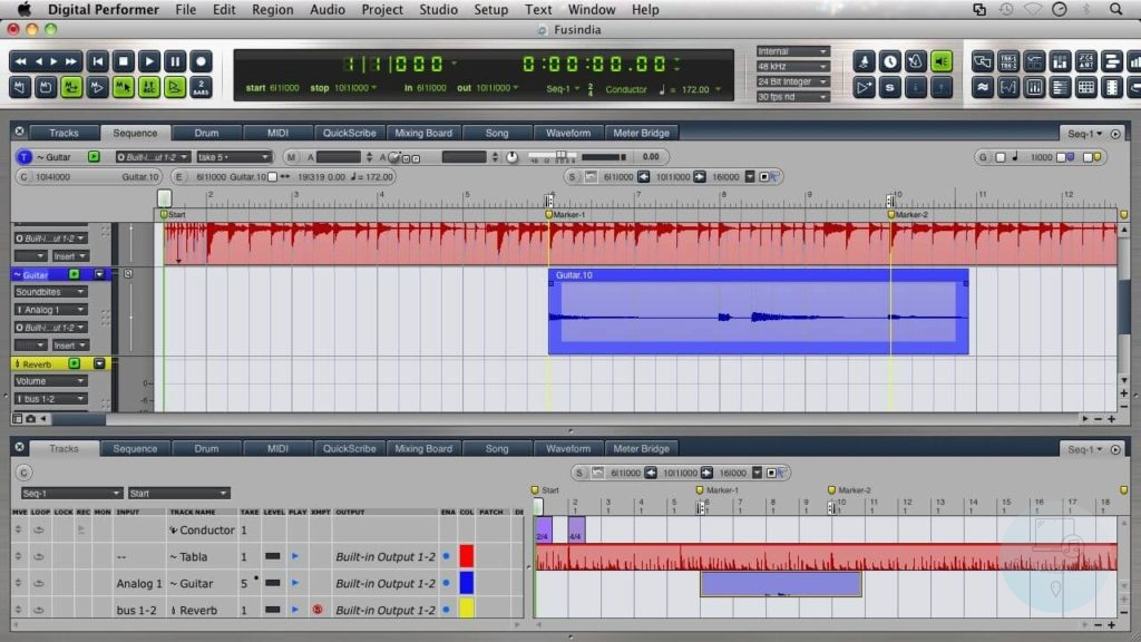 is motu digital performer the best daw for orchestral music