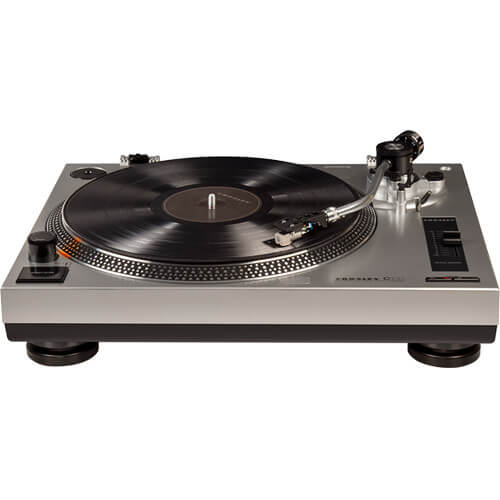 Crosley C100 - best crosley record players with built in speakers - cheap and portable turntables