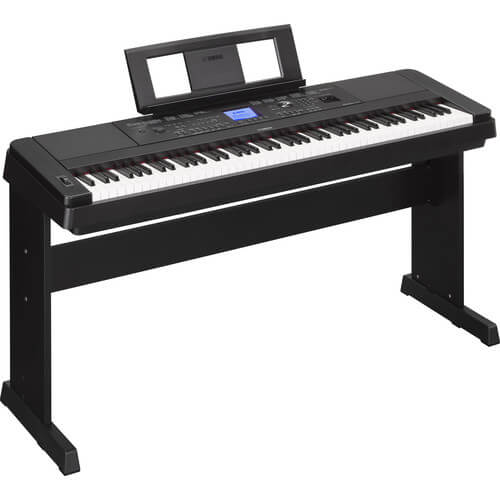 Yamaha DGX-660 - best digital piano with weighted keys for beginners