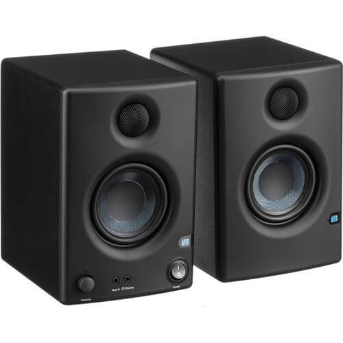 PreSonus Eris E3.5 - cheap budget speakers for audio technica record players and turntables